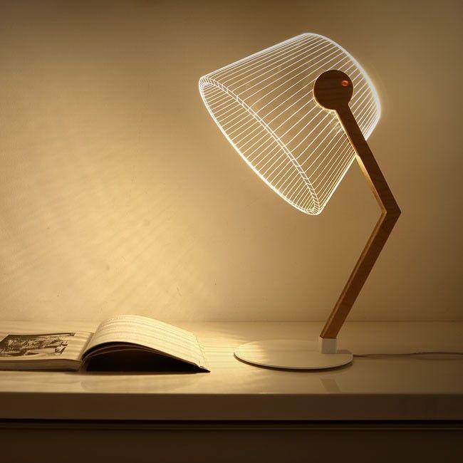 Ziggi 2d Lamp By Studio Cheha Desk Lamp Lamp Table Lamp