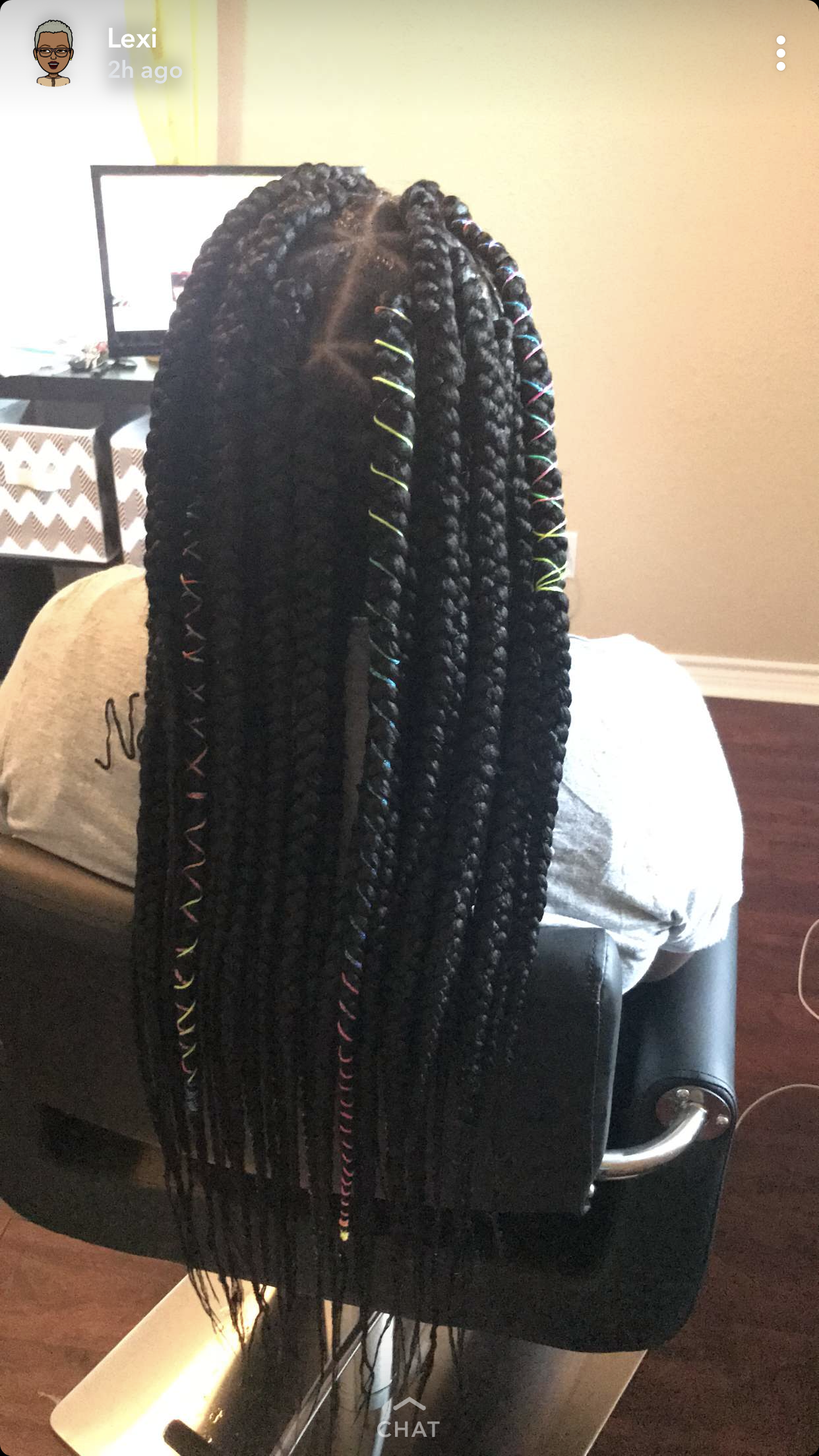 Box Braids Extended