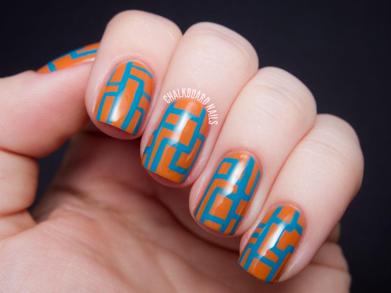 Chalkboard Nails   Nail Art Blog: favorite