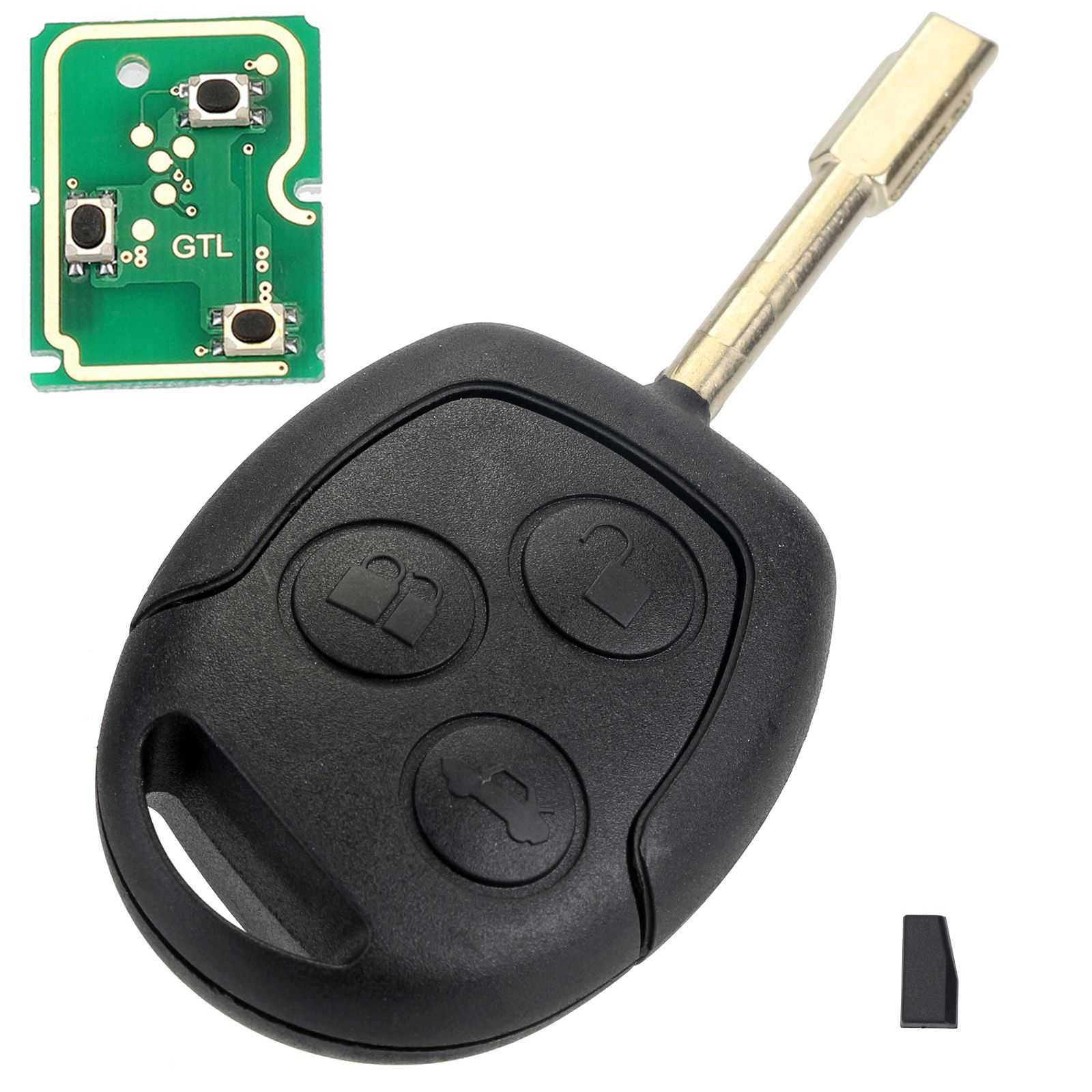4d60 Remote Key Shell Case 433mhz Chip Car Key Replacement For