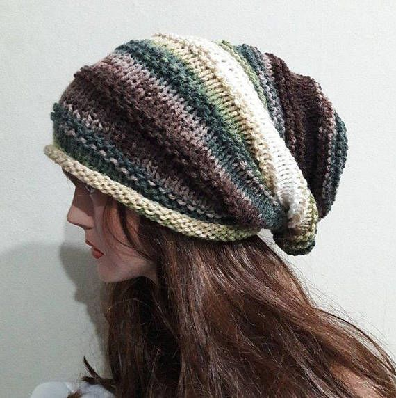 5bb285e604f Super Slouchy Beanie Celebrity Hat Dreadlock Hat Rasta Hat Women Men Fashion  Accessories Gift Ideas