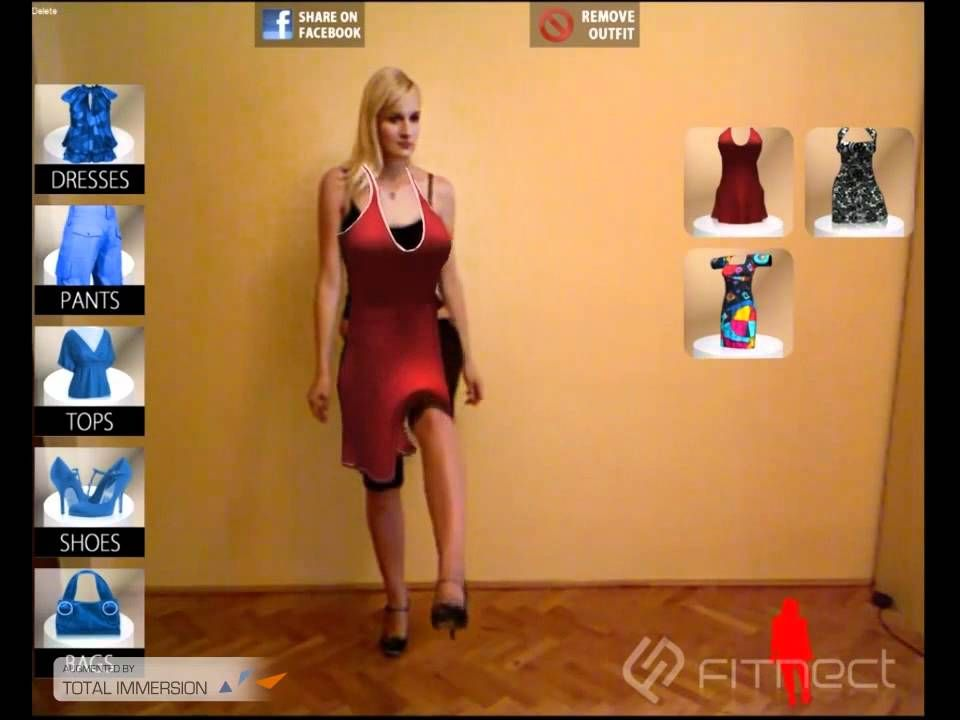 Virtual Dress Designers And Its Appearance Are Broadly Adopted In Ecommerce Website To Visualize The Individua Retail Fashion Augmented Reality Clothing Retail