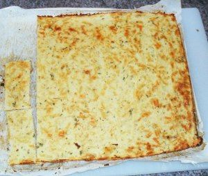 Cauliflower Pizza Crust, I love the one in the THM book but this one looks interesting too!