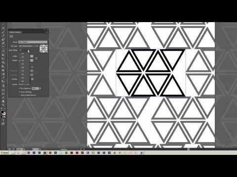 Geometric Pattern Youtube Illustrator Tutorials Illustration