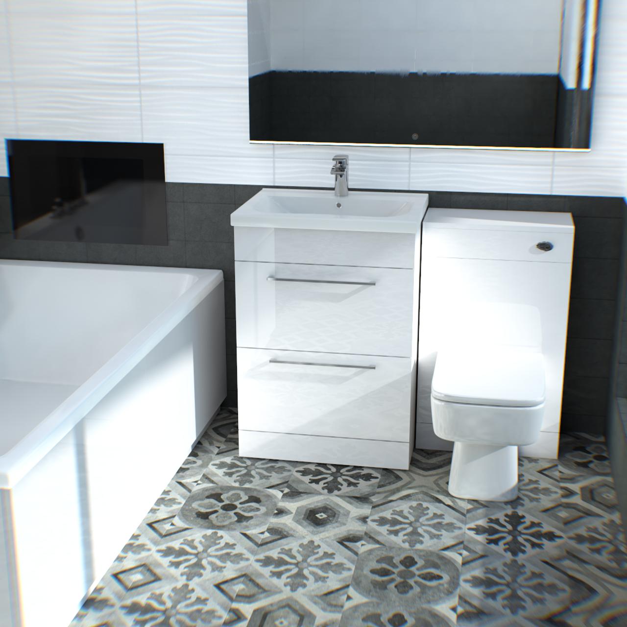 Surface Grey Décor Matt 30 x 30 Porcelain Décor Tile | Ceramic ...