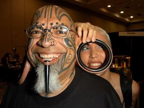 Worst Piercing Ever (28 Photos) | Body mods, Weird tattoos, Body modifications