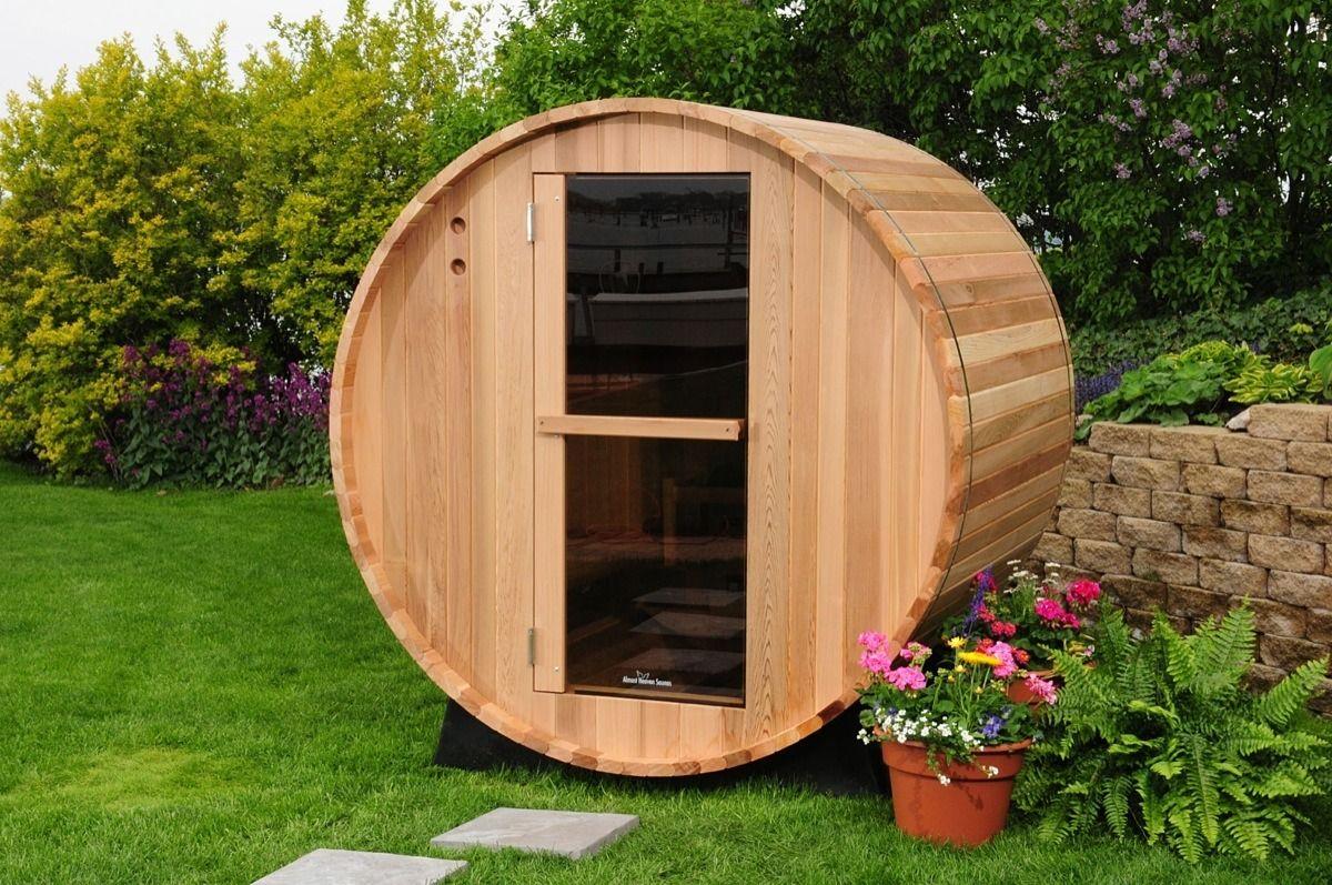 die besten 25 sauna im garten ideen auf pinterest selbstgemachte schwimmb der outdoor lounge. Black Bedroom Furniture Sets. Home Design Ideas