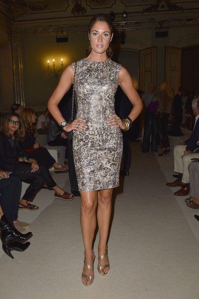 Simonetta Ravizza - Front Row - Milan Fashion Week Womenswear Spring/Summer 2015