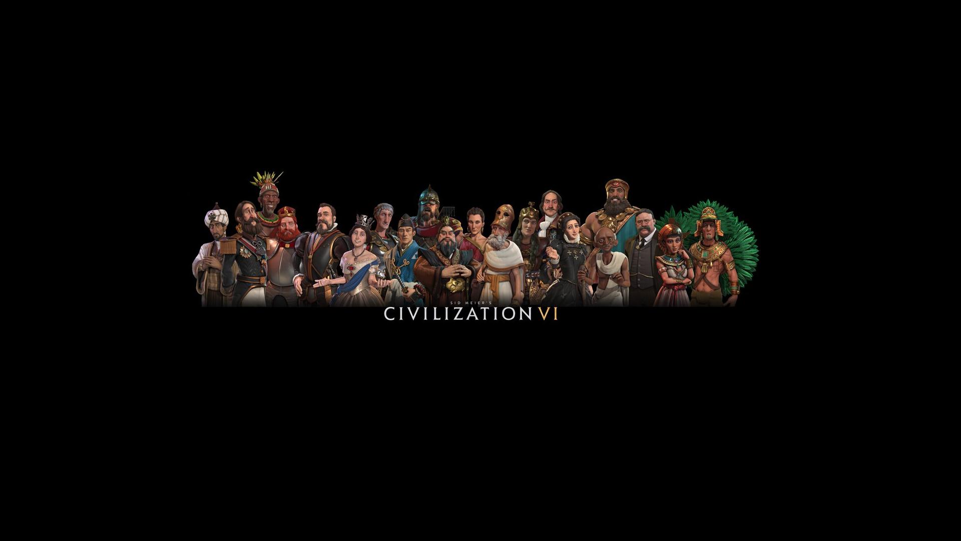 Civ 6 Leader Pantheon Wallpaper #CivilizationBeyondEarth