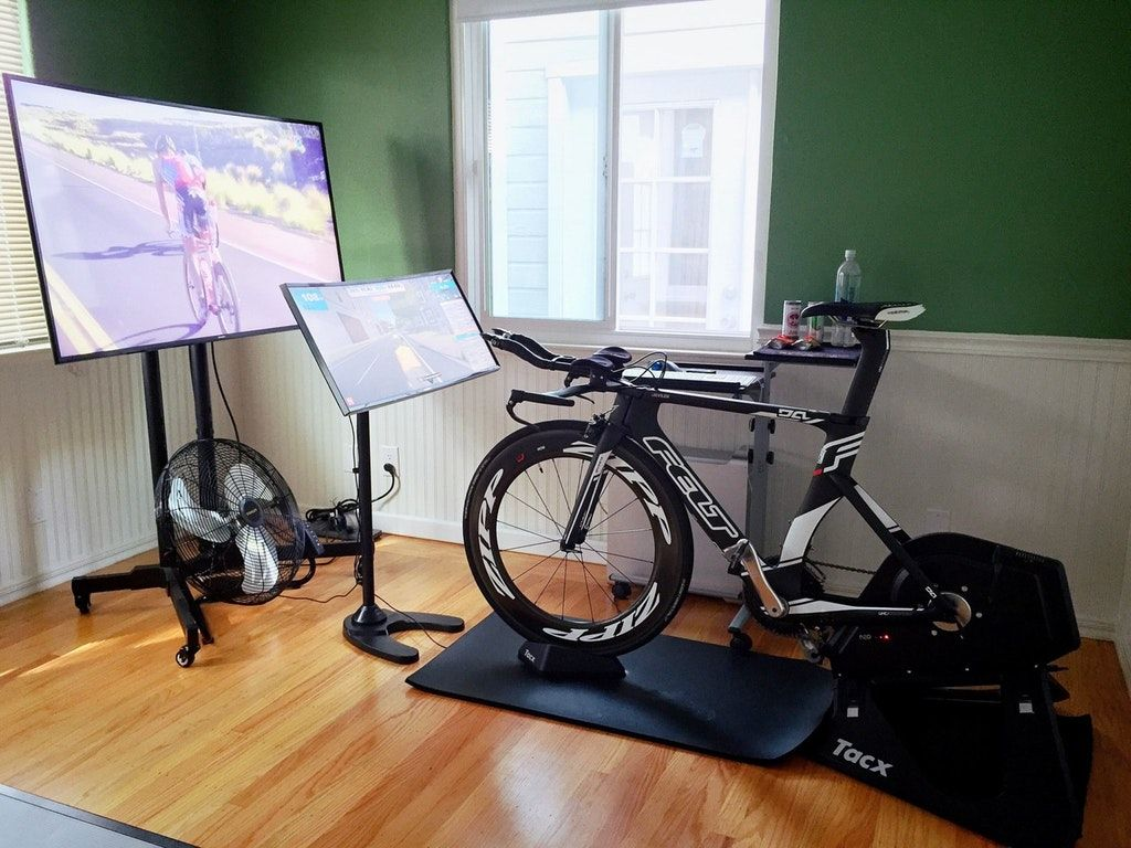 Ultimate Zwift setup took 4 months to build Zwift
