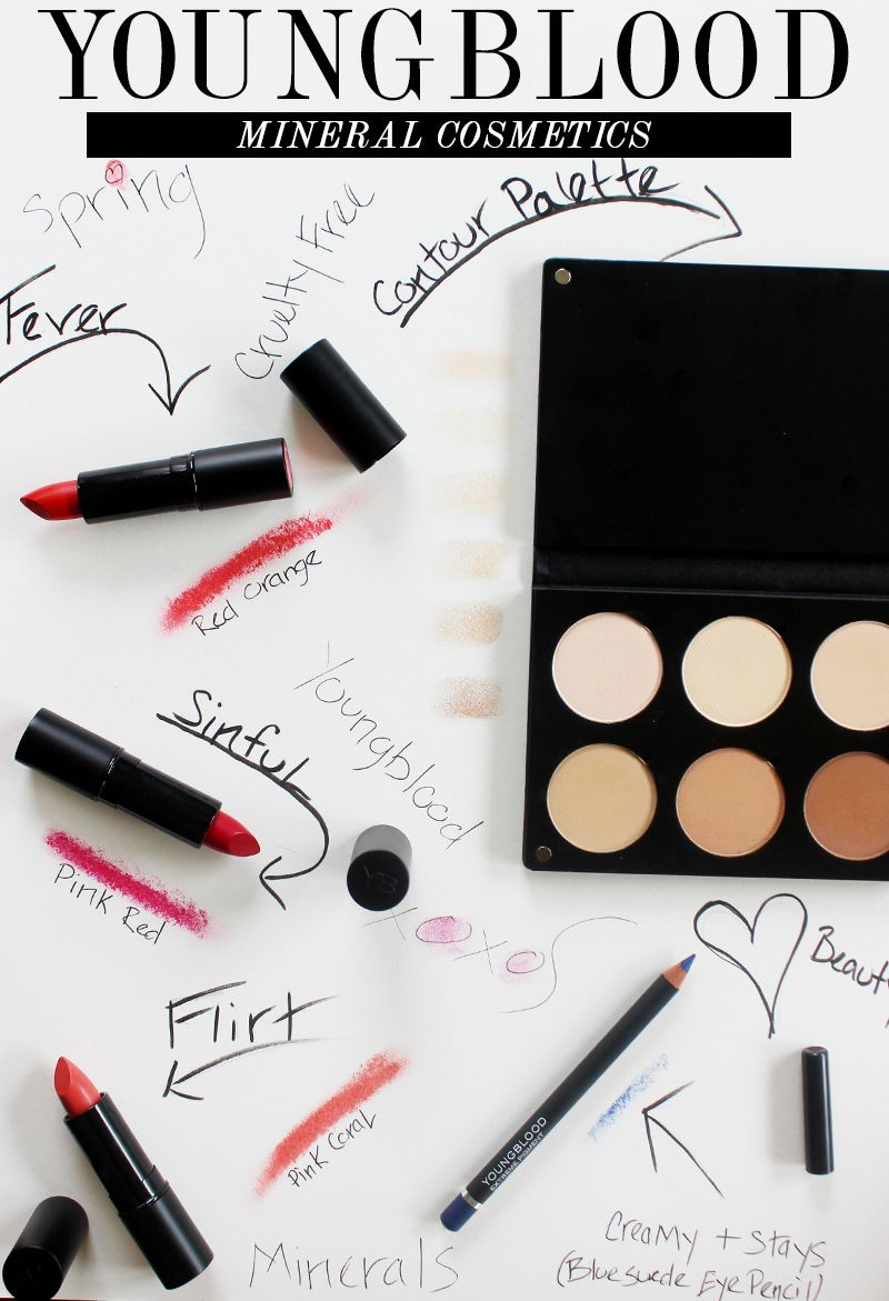 Youngblood Mineral Cosmetics Spring Makeup via @Citizenofbeauty