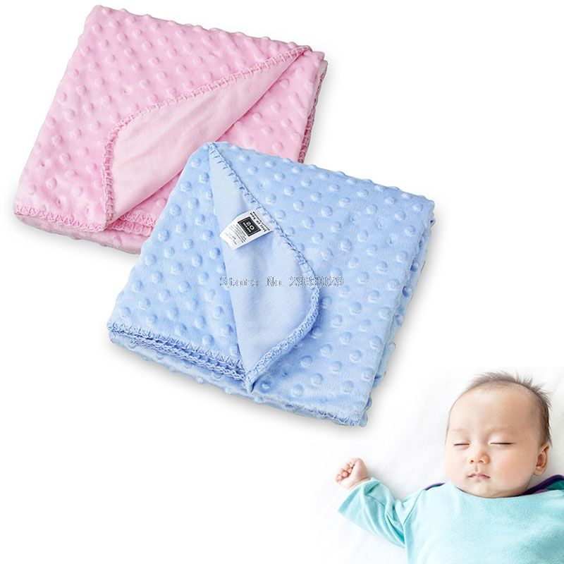 Receiving Blanket Vs Swaddling Blanket Baby Blanket Newborn Thermal Warm Soft Fleece Blankets & Swaddling