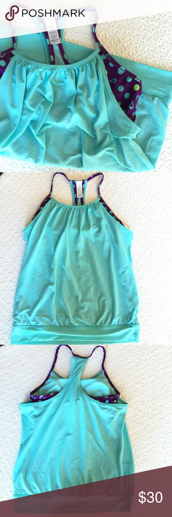 Ivivva Size 14 Double Dutch Tank Top In great condition!   { FYI, I'm trying to clear some space in my closet, so I'm not interested in trading :) Thanks! } lululemon athletica Tops Tank Tops