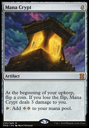 Mana Crypt Magic The Gathering The Gathering Magic The Gathering Cards