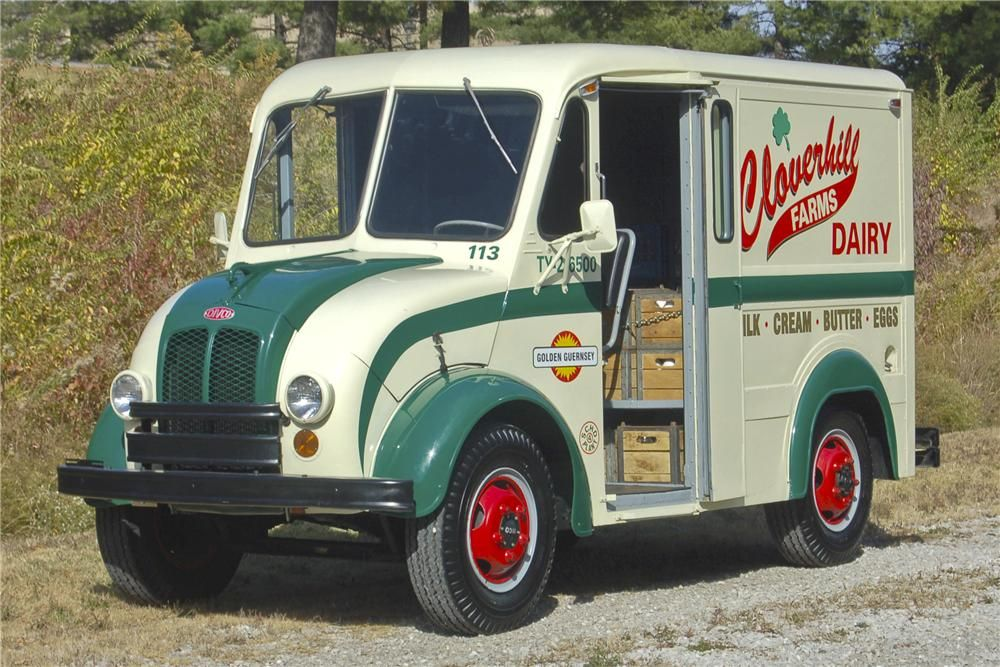 1965 Divco Milk Truck Barrett Jackson Auction Company World