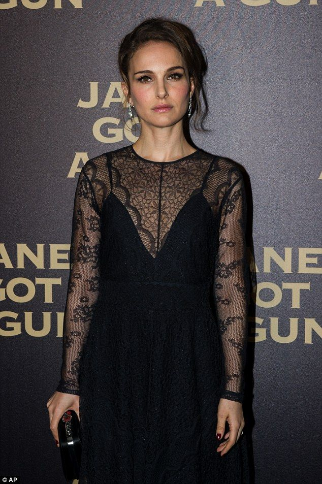 Natalie Portman Black Dress Cocktail Dress