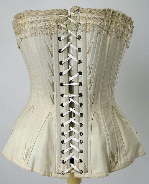 Corset 1880s