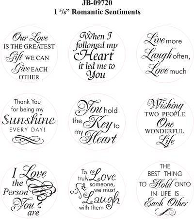 JR-09720 Romantic Sentiments