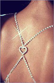 a99054459e450 Glam Straps Heart Halterneck Bra Strap - Diamante bra straps  www.breastaccessories.co.uk