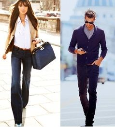 Brilliant On Casual Fridayswhen Many Of Her Colleagues Sport  The Trend Toward A More Casual Dress Code In The