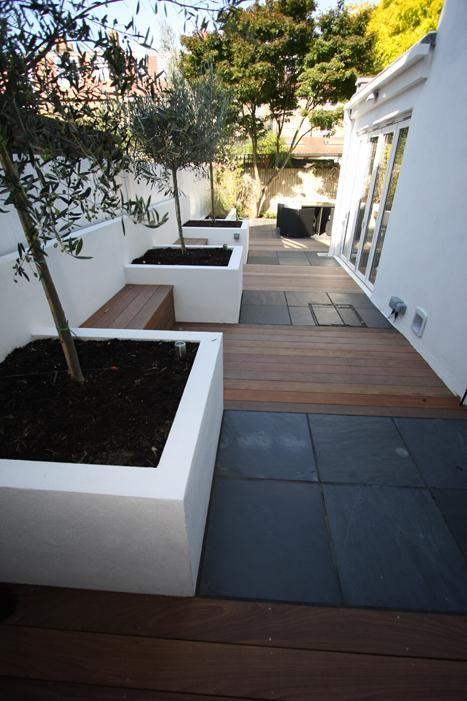 Blue/Black Slate Paving - London Stone Gardens Pinterest