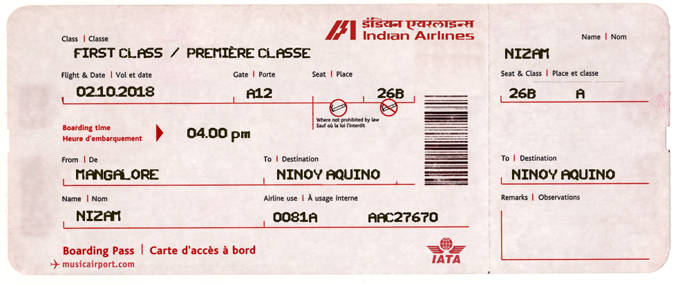 Pin By Nizam Ismail On India Fake Plane Ticket Flight Ticket Plane Tickets