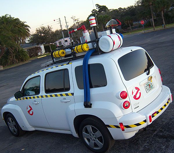 Ghostbuster Movie Fans Build Modern Ecto 1 Car And This Is Why