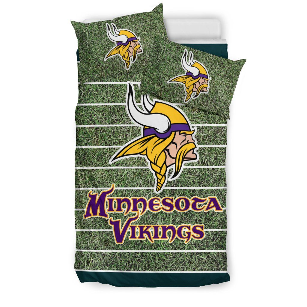 Sport Field Large Minnesota Vikings Bedding Sets