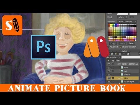 how to animate book