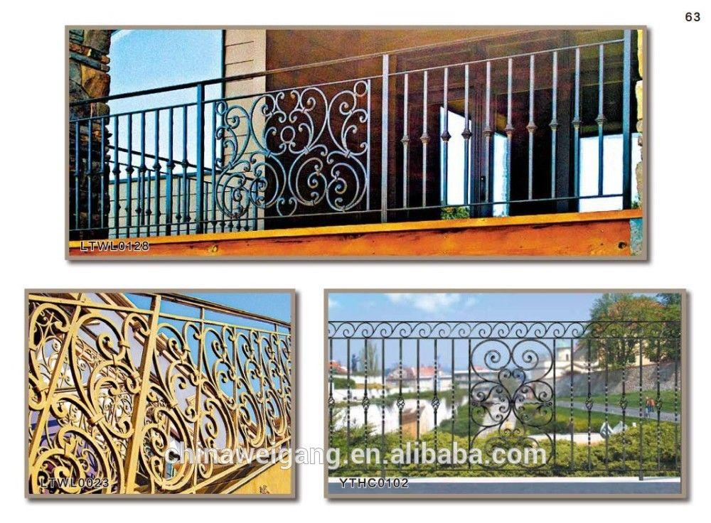 Veranda Wrought Iron Railings Used Photo Detailed About Veranda Wrought Iron Railings Used Picture On Alibaba C Wrought Iron Railing Iron Railing Wrought Iron