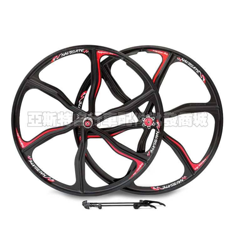 9c794074528 alloy 26 inch mountain road bike disc brakes stuck Integrated alloy wheel  bicycle Cycling Wheels Bicycle Parts