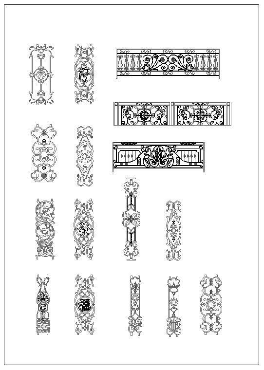 Pin On Neoclassical Design Column Design Column Details | Wrought Iron Handrails Near Me