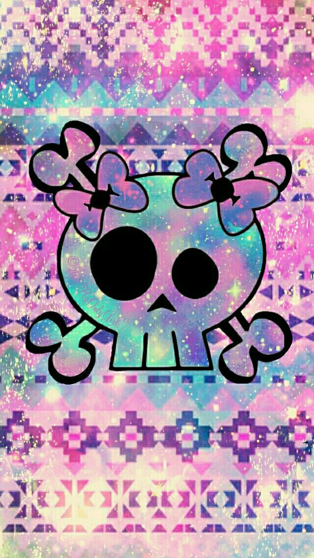 Tribal girly skull galaxy iphoneandroid wallpaper i created for tribal girly skull galaxy iphoneandroid wallpaper i created for the app cocoppa voltagebd