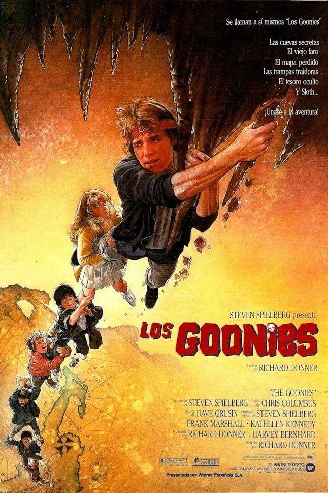 The Goonies (1985) Original movie posters, Streaming movies