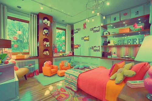 Amazing Rainbow Bedroom!