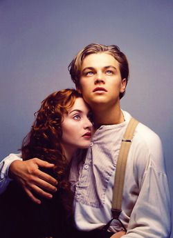 Jack and Rose - Titanic (Leonardo DiCaprio & Kate Winslet)