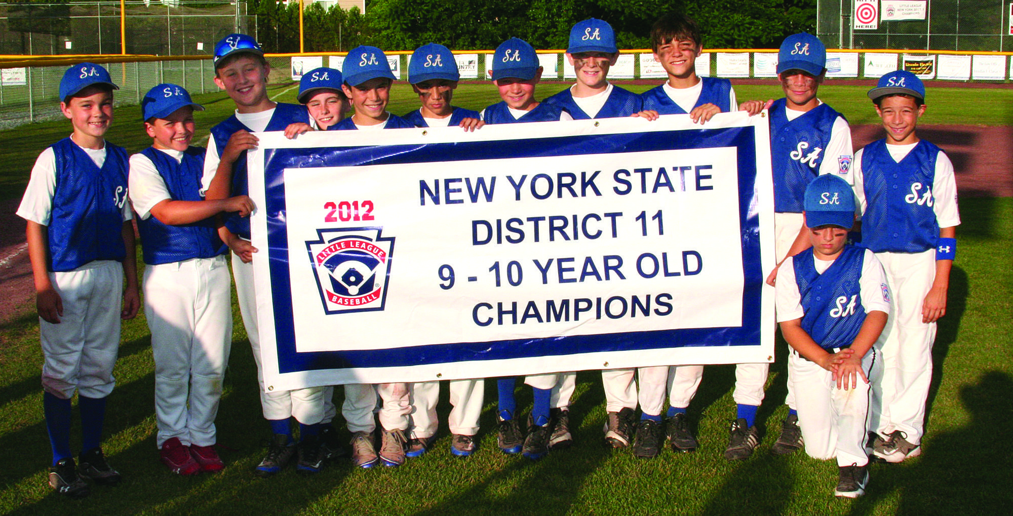 Youth Baseball Saratoga American Little League 9 And 10 Year Olds Win District 11 Championship Little League Youth Baseball 10 Year Old