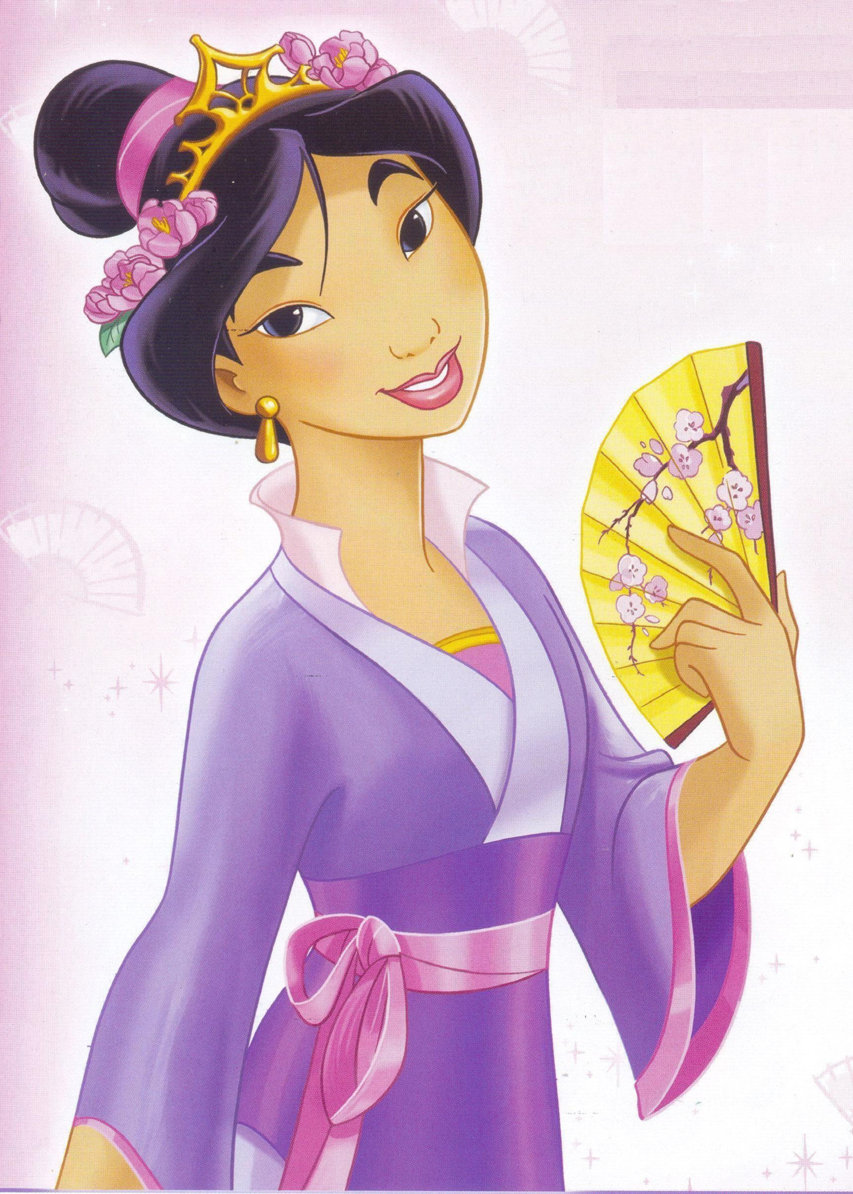 Chibi mulan disney leading ladies mulan - Princesse mulan ...