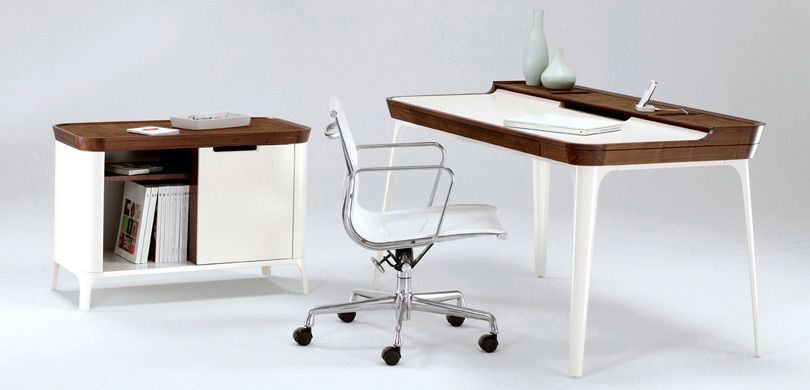 escritorio-moderno-juvenil (2) Innréttingar Pinterest - diseo de escritorios