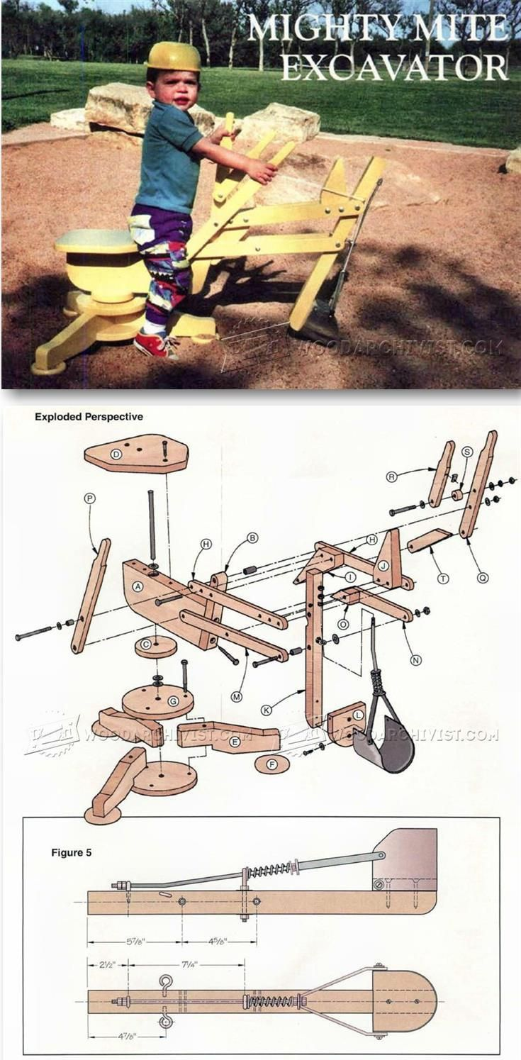 sandpit digger plans - children's outdoor plans and projects