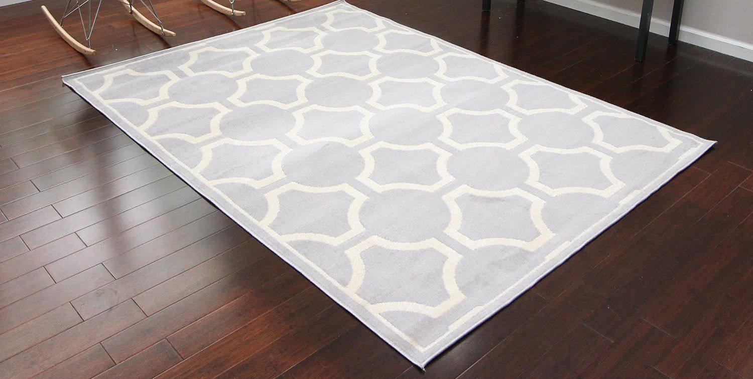Silver Moroccan Trellis Discount Rugs Under 100 Bargain Area Rugs