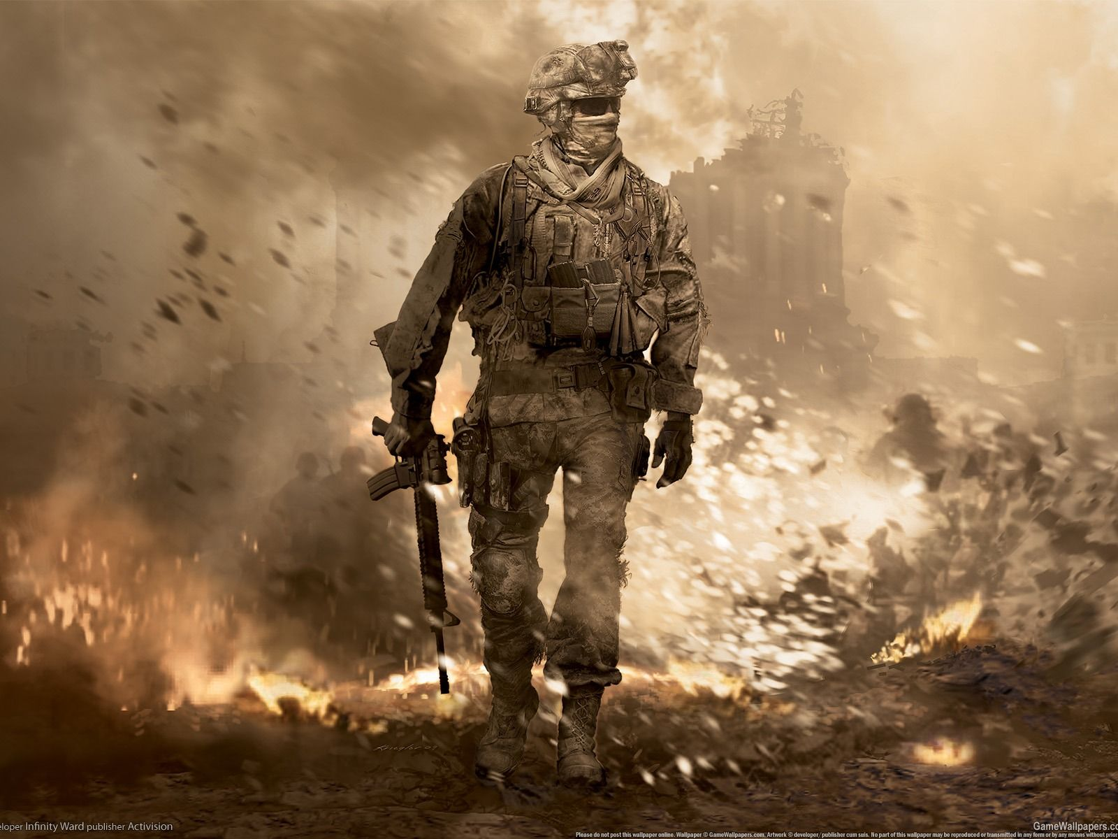 Call Of Duty 6 Modern Warfare 2 Hd Wallpaper 9 1600x1200