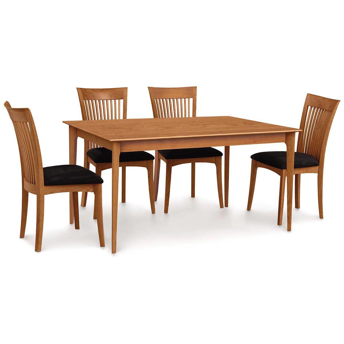 Copeland Sarah 36 X 60 Four Leg Fixed Top Dining Table 6 Sar 03