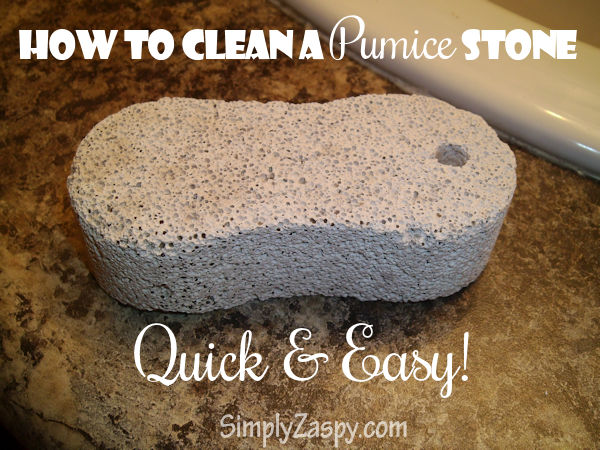 How To Clean A Pumice Stone