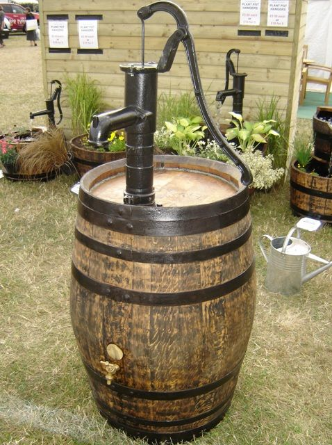 Rain Barrel Hand Pump Google Search