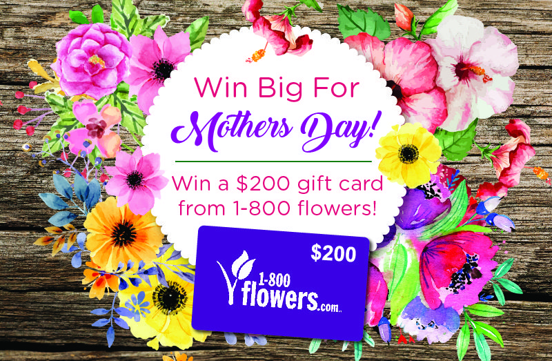 200 mothersday gift card giveaway ends 511 one time