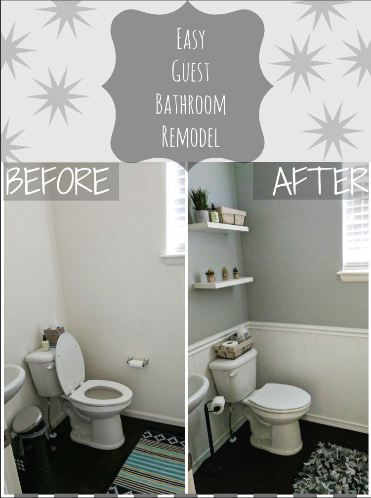 Simple Diy Bathroom Remodel With Images Diy Bathroom Remodel