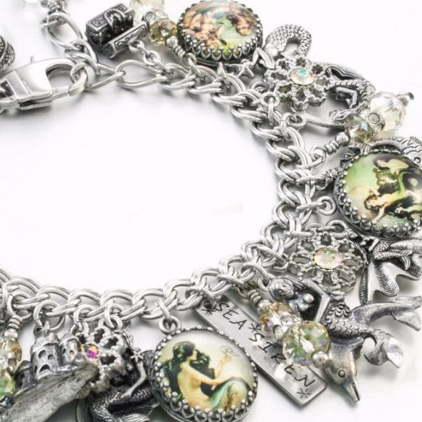 Sirens Of The Sea Mermaid Charm Bracelet