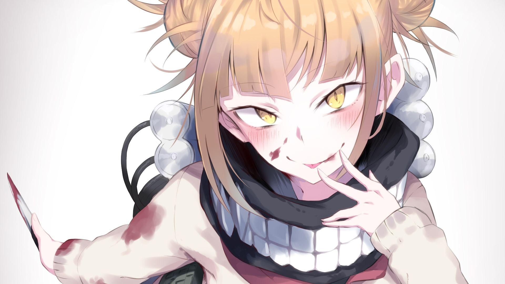 himiko toga wallpaper anime