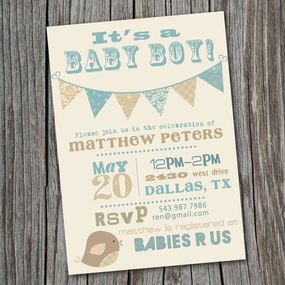 Its a boy vintage baby shower invitation printable custom 1500 its a boy vintage baby shower invitation printable custom 1500 via etsy filmwisefo Images